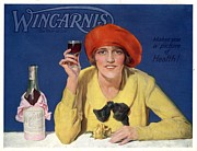 Nineteen-tens Posters -  1910s Uk Wincarnis Wine Fortified Poster by The Advertising Archives
