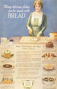 Nineteen-tens Art -  1910s Usa Bakers Bread by The Advertising Archives