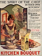 Nineteen-tens Art -  1910s Usa Cooking Kitchens Bouquets by The Advertising Archives