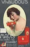 Nineteen-tens Art -  1910s Usa Mavis Talcum Powder by The Advertising Archives