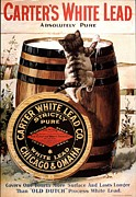 1910s Usa Paint Carters Lead Print by The Advertising Archives