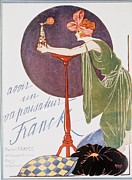 Scents Art -  1920s Uk Atomisers Spraying Womens Art by The Advertising Archives