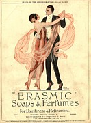 WomenÕs Art -  1920s Uk Erasmic Soap Perfume by The Advertising Archives