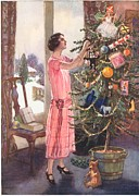 WomenÕs Art -  1920s Uk Trees Decorations Womens by The Advertising Archives