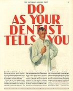 1920s Usa Dentists Lavoris Print by The Advertising Archives