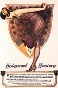 Nineteen-twenties Posters -  1920s Usa Hosiery Womens Stockings Poster by The Advertising Archives