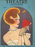 Featured Art -  1920s Usa Love Magazines by The Advertising Archives