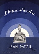 Fragrances Art -  1930s Usa Jean Patou Lheure Attendue by The Advertising Archives