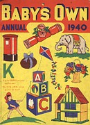 1940Õs Prints -  1940 1940s Uk Babies Own Annuals S Print by The Advertising Archives