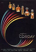 Fragrances Art -  1940s Usa Corday   Womens by The Advertising Archives