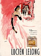 Fragrances Art -  1940s Usa Lucien Lelong   Theatre by The Advertising Archives