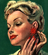 Featured Art -  1946 1940s Uk Womens Magazines by The Advertising Archives