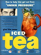 1950s Usa Iced Tea Print by The Advertising Archives