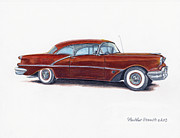 Heather Stinnett -  1956 Oldsmobile Super 88
