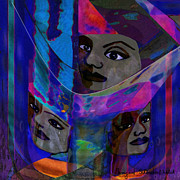 Veiled Art -  279 - Indian Veils by Irmgard Schoendorf Welch