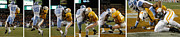Don Olea Posters -  Anatomy Of An Interception Poster by Don Olea