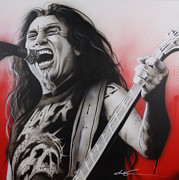 Heavy Metal Prints -  arhhhhhhhh Print by Christian Chapman Art