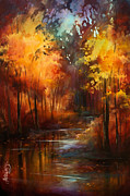 Changing Colors Prints -  Autumns Place  Print by Michael Lang