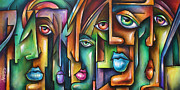 ' Believers ' Print by Michael Lang