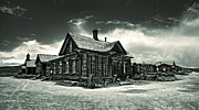 Bodie Ghost Town Panorama 02 Print by Gregory Dyer