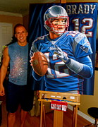 Sports Art World Wide John Prince -  BRADY limited edition...
