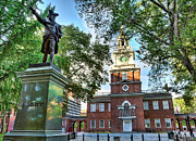Independence Hall Posters -  Captain John Barry the Patriot  Poster by Lee Dos Santos