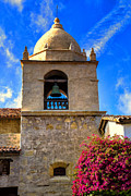 Bells Prints -  Carmel Mission Print by Garry Gay