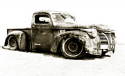 Beach Hop Prints -  Chevy Pickup Patina  Print by motography aka Phil Clark