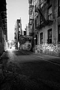 Escapes Framed Prints -  Chinatown New York City - Mechanics Alley Framed Print by Gary Heller