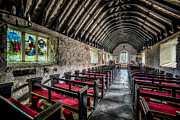 North Wales Digital Art -  Church of St Mary by Adrian Evans