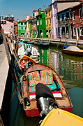 Northern Italy Photos -  Colors Of Burano Italy by Xavier Cardell