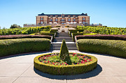 Napa Valley Vineyard Prints -  Domaine Carneros Winery and Vineyard in Napa Valley California. Print by Jamie Pham