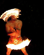 Fire Digital Art -  Fire Dance  by Gilbert Artiaga
