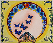 Butterflies Mixed Media -  Fly Away Butterfly by Teri Schuster