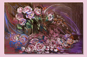 Age Pastels -  For There Is a Rose and There Is a Rose by Natalia Lvova