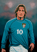 Francesco Totti Italia Print by Paul Meijering