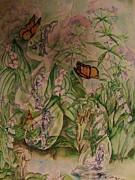 Frozen  Sorrow Print by Beth Arroyo