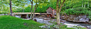 Mary Almond Prints -  Glade Creek Gristmill Print by Mary Almond