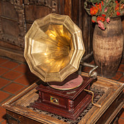 Classic Audio Player Photos -  Gramophone by Mariusz Jurgielewicz