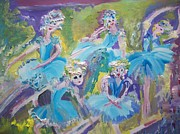 Waltz Paintings -  Green and pleasant land waltz by Judith Desrosiers