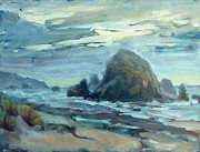 Margaret  Plumb -  Haystack Rock at Cannon...