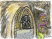 Hidden Lutist Print by Cibeles Gonzalez