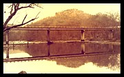 Lamdscape Prints - .  Highway 110 bridge near Heber Springs Arkansas Print by Brian Hubmann