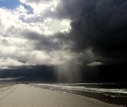 Topsail Island Photos -  Hurricane Glimpse by Karen Wiles