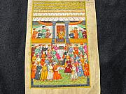 Anonymous Indian artist -  Indian miniature...