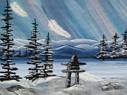 Beverly Livingstone -  Inukshuk-Land of Spirits