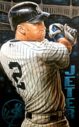 Sports Art World Wide John Prince -  JETER 22 Limited...