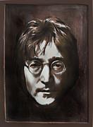 John Lennon Print by Andrzej Szczerski