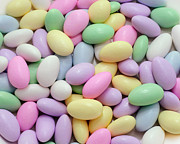 Jordan Almonds Posters -  Jordan Almonds - Weddings - Candy Shop Poster by Andee Photography
