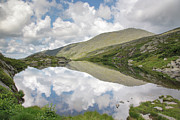 Line Metal Prints -  Lakes of the Clouds - Mount Washington New Hampshire Metal Print by Erin Paul Donovan